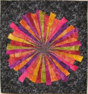 Changes 50 Fiber Art by Julie R. Filatoff
