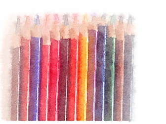 Colored Pencils Photograph by Julie R. Filatoff