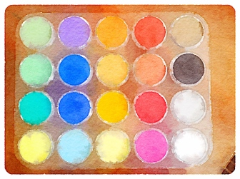 Pan Pastels Photograph by Julie R. Filatoff