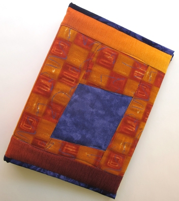 Violet/Orange Art Journal