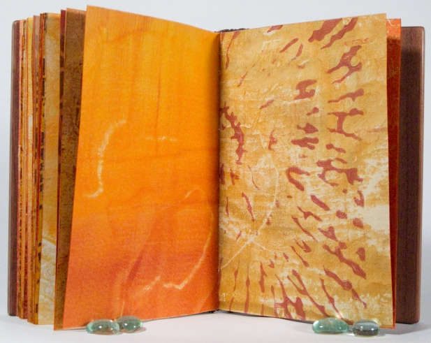 Artist's Book with Wood Covers